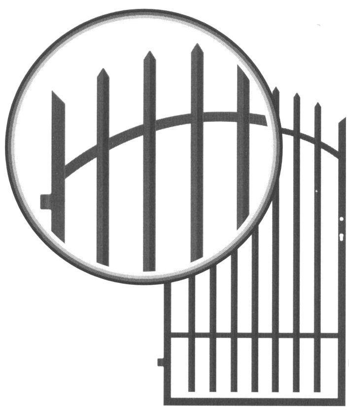 Galvaniseret låge design 7